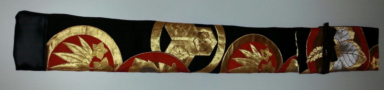 丸帯竹刀袋(2本入)